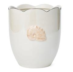 Ведро для мусора Kassatex Mare Shells Pearl