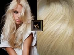 100% натуральный срез волос #60( блонд)