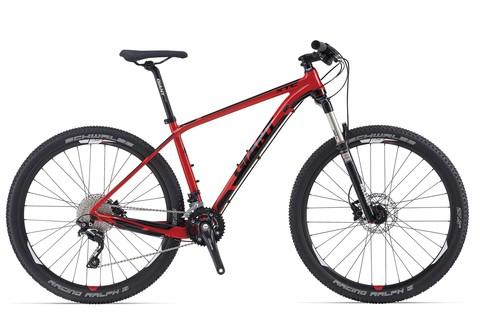 Giant XTC 27.5 2 (2014) красный с черным