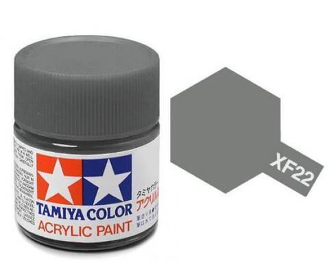 XF-22 Краска Tamiya, Серый RLM Матовый (RLM Grey), акрил 10мл