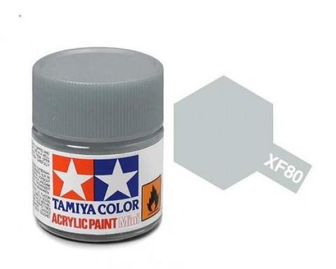 XF-80 Краска Tamiya, Королевский Серый Матовый (Royal Gray), акрил 10мл