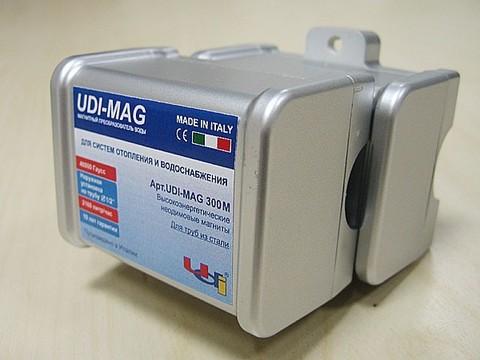 """Магнитный преобразователь воды UDI - MAG 300M 1/2"""" для стальных труб НАКЛАДНОЙ"""