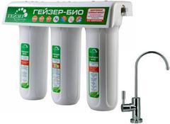 "Фильтр ""Гейзер-3"" Био 311 для мягк. воды (мех + Арагон М-Био + ММВ,  кран 6, белый кор), арт. 66024"