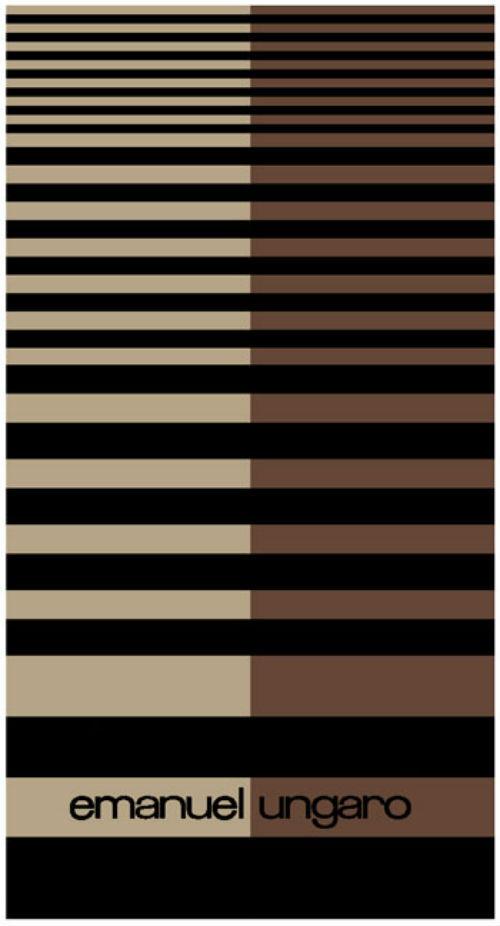 Наборы полотенец Набор полотенец 2 шт Emanuel Ungaro Geo коричневый Nabor-polotenec-Geo-ot-Emanuel-Ungaro.jpg