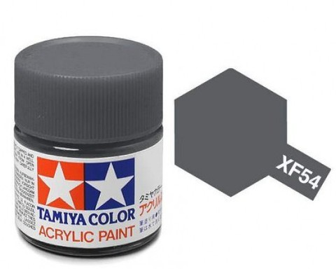 XF-54 Краска Tamiya, Темно-серый Морской Матовый (Dark Seal Grey), акрил 10мл