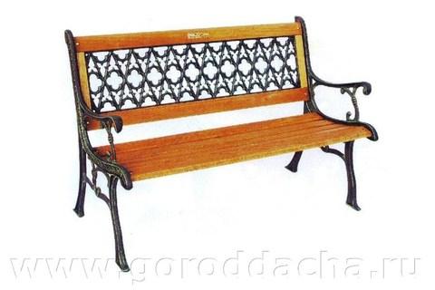 Скамейка садовая «Форест»