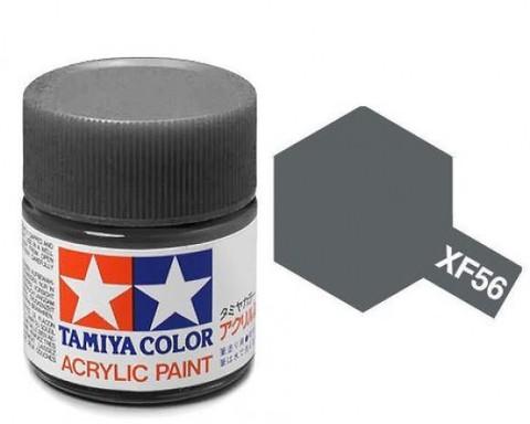 XF-56 Краска Tamiya, Серый Металлик Матовый (Metallic Grey), акрил 10мл