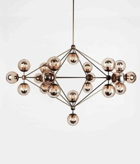 люстра ROLL and HILL   Modo Chandelier - 6 Sided, 21 Globes