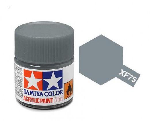 XF-75 Краска Tamiya, Серый Матовый (IJN Gray Kure), акрил 10мл