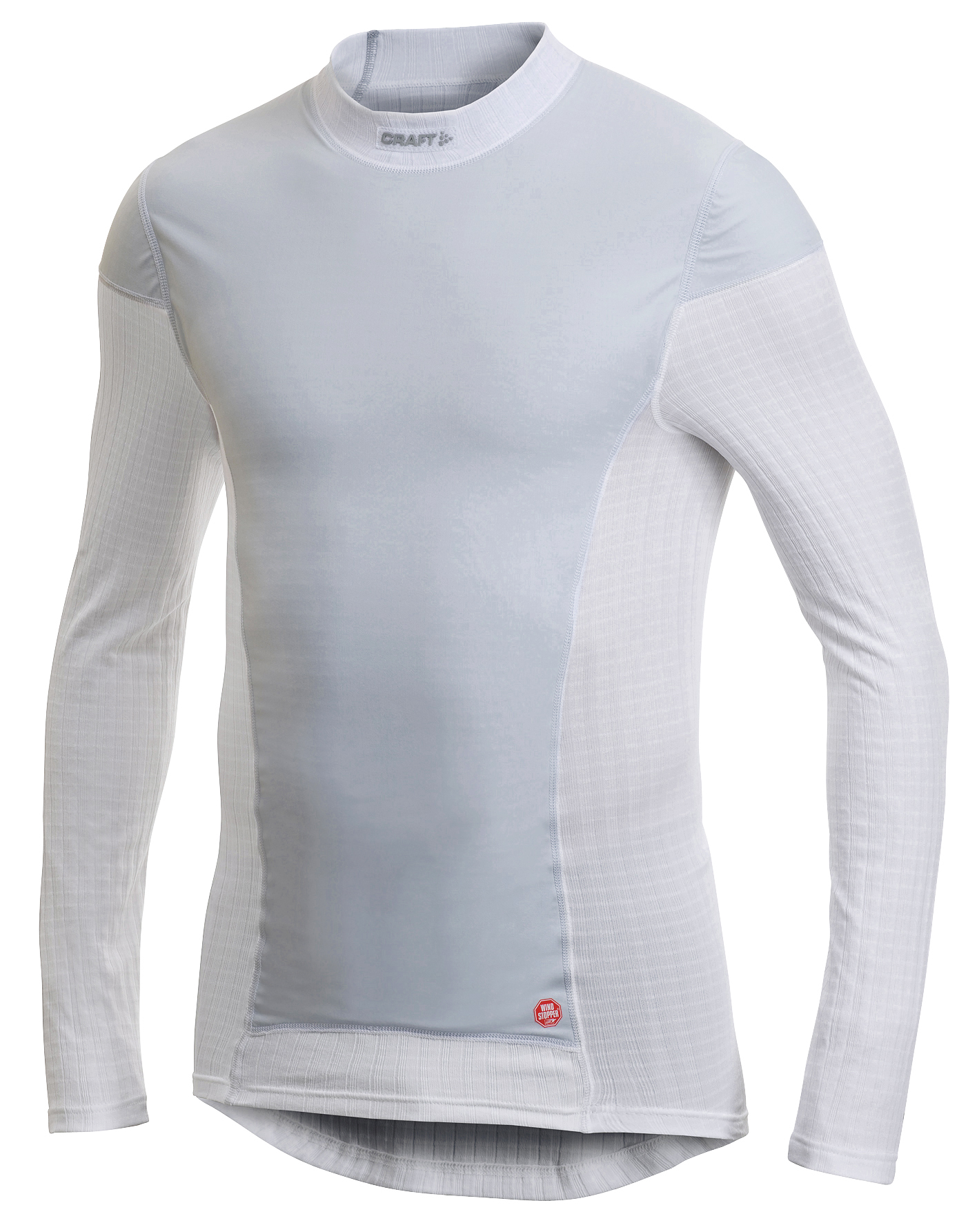 Термобелье Рубашка Craft Active Extreme Windstopper мужская white