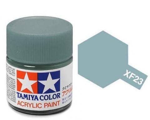 XF-23 Краска Tamiya, Светло-синий Матовый (Light Blue), акрил 10мл