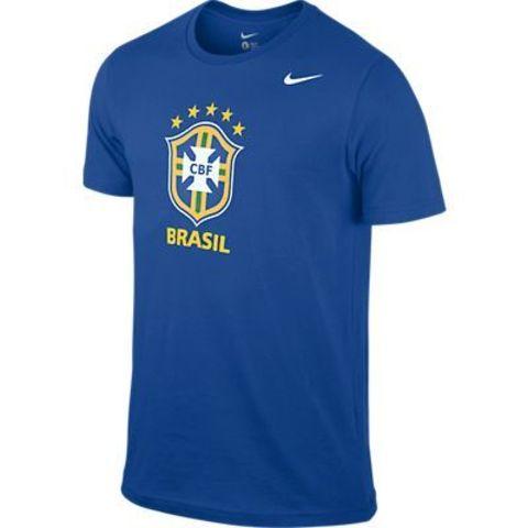 Футболка Nike CBF Core Crest Tee синяя
