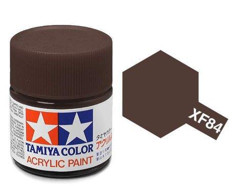 XF-84 Краска Tamiya, Темный Железный Матовый (Dark Iron), акрил 10мл
