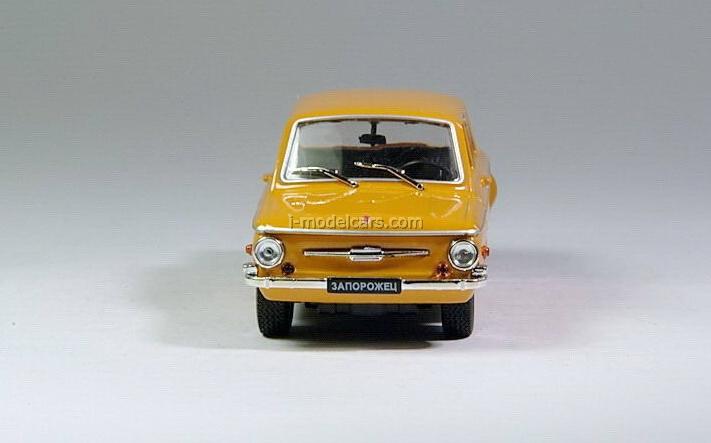 ZAZ-968A Zaporozhets orange 1:43 DeAgostini Auto Legends USSR #4