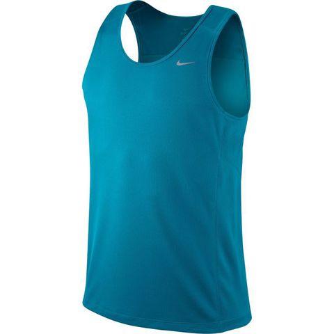 Майка л/а Nike Miler Singlet бирюзовая
