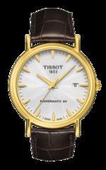 Наручные золотые часы Tissot T907.407.16.031.00