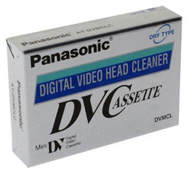 Кассета Panasonic AY-DVMCLWW Head Cleaner предназначена для сухой чистки видеоголовок в видеокамерах формата miniDV