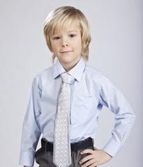 Детская школьная рубашка для мальчика
