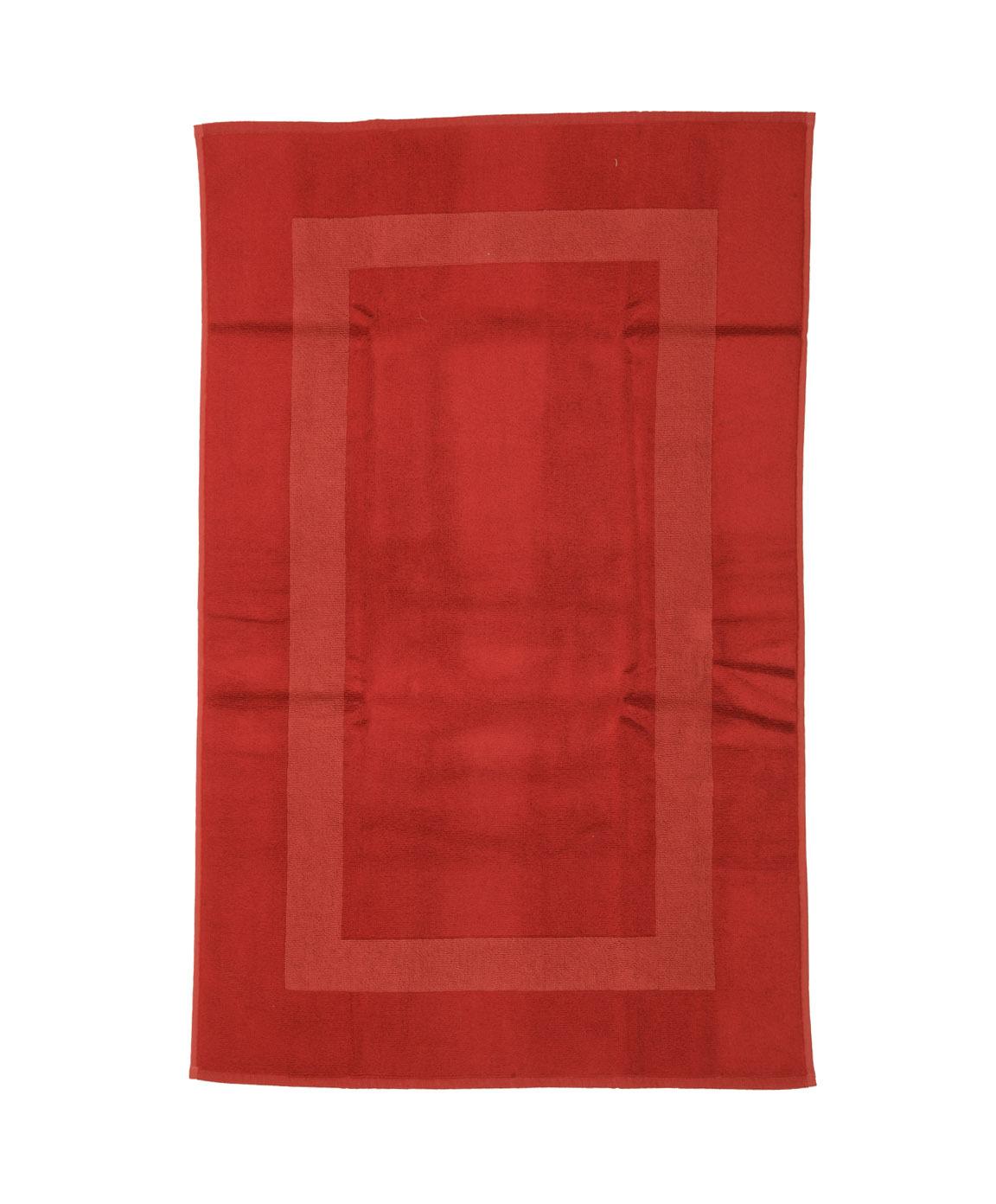 Элитный коврик для ванной Waterside красный от Hamam