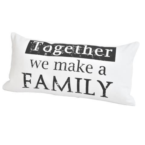 Элитная подушка декоративная Script Together от Casual Avenue