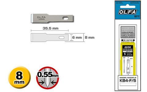 Лезвие для ножа AK-4, F/5