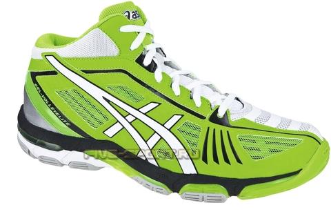 Кроссовки волейбольные Asics Gel-Volley Elite 2 MT мужские зеленые