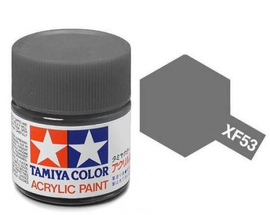XF-53 Краска Tamiya, Серый Нейтральный Матовый (Neutral Grey), акрил 10мл