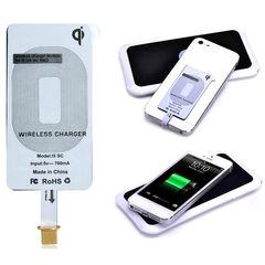Комплект для apple iphone 5/5S: беспроводная зарядка Qi + приемник-ресивер Qi