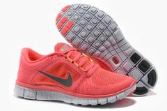 Кроссовки женские Nike Free Run Pink Grey