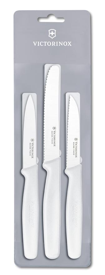 Набор Victorinox кухонный, 3 предмета, белый