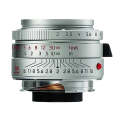 Leica Summicron-M 35mm f/2.0 ASPH silver (chrom)