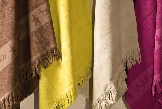 Наборы полотенец Набор полотенец 2 шт Byblos Glamour белый polotenetse-Glamour-byblos-italiya.jpg