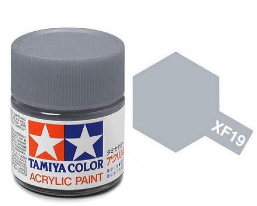 XF-19 Краска Tamiya, Серый Небесный Матовый (Sky Grey), акрил 10мл