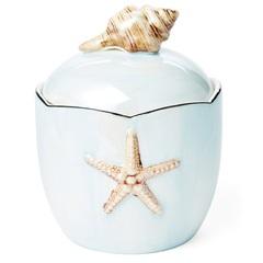 Емкость для косметики Kassatex Mare Shells Seafoam
