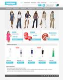 Шаблон интернет магазина - Fashion outlet