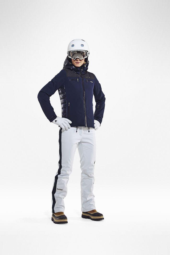 Женские лыжные брюки 8848 Altitude ESTELLE white (679052) фото