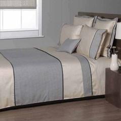 Постельное белье 1.5 спальное Bovi Chanel песочное