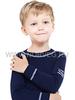 Комплект термобелья из шерсти мериноса Norveg Soft Dark Blue детский