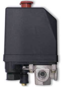 Пусковое реле компрессора 3-фазн, до 5,5 квт., 8-10 бар