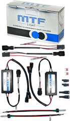 Комплект ксенона в фонари заднего хода MTF Light P21W (5000K)