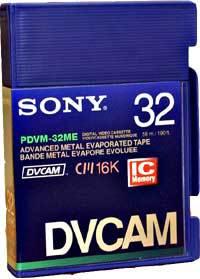 Видеокассета Sony DVCAM PDVM-32ME