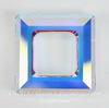 4439 Подвеска Сваровски Square Ring Crystal AB  (20 мм)