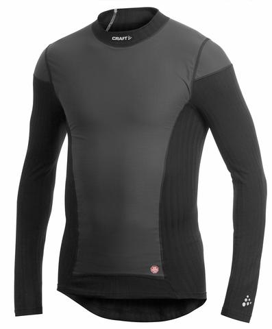 Термобелье Рубашка с ветрозащитой Craft Active Extreme Windstopper Black мужская