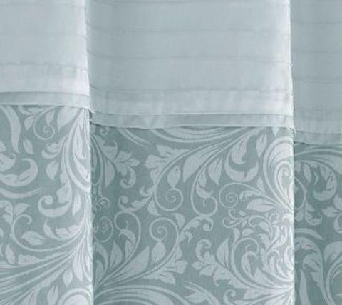 Элитная шторка для ванной Bedminster Scroll Surf Spray от Kassatex