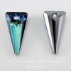 6480 Подвеска Сваровски Spike Crystal Bermuda Blue (18 мм)