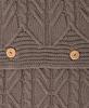 Элитная наволочка декоративная Imperio 46 коричневая от Luxberry