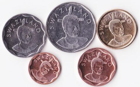 Свазиленд набор 2011.