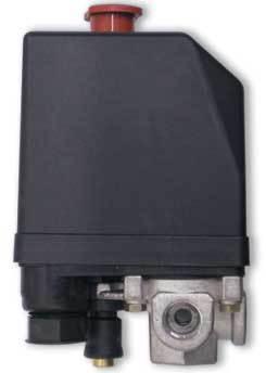 Пусковое реле компрессора 1-фазн 10 Ампер с термозащитой