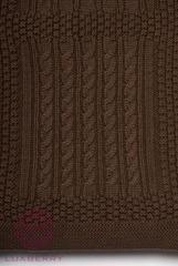 Элитный плед -покрывало Imperio 3 коричневый от Luxberry