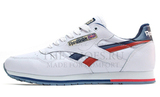 Кроссовки Мужские Reebok Classic Leather White Blue Red Camo